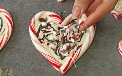 VALENTINE'S DAY TREAT: PEPPERMINT HEARTS